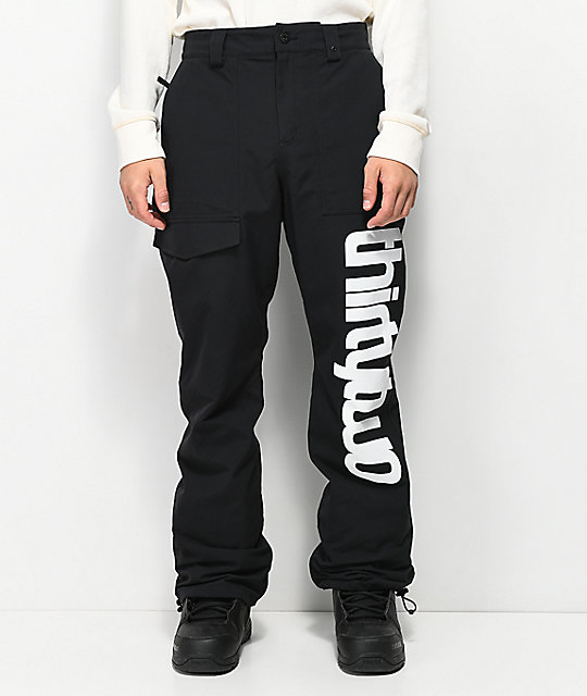 ThirtyTwo Sweeper Black Snowboard Pants