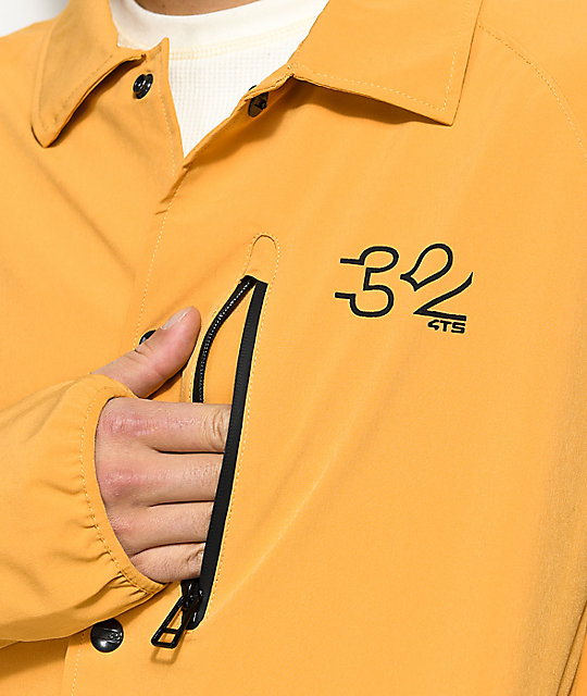 ThirtyTwo Wire 4TS Gold Coaches Jacket