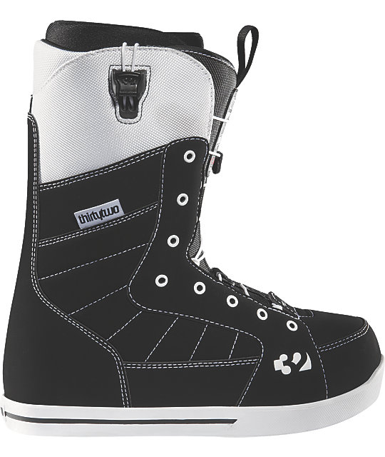 Thirtytwo 86ft Grenier Black Mens Snowboard Boots