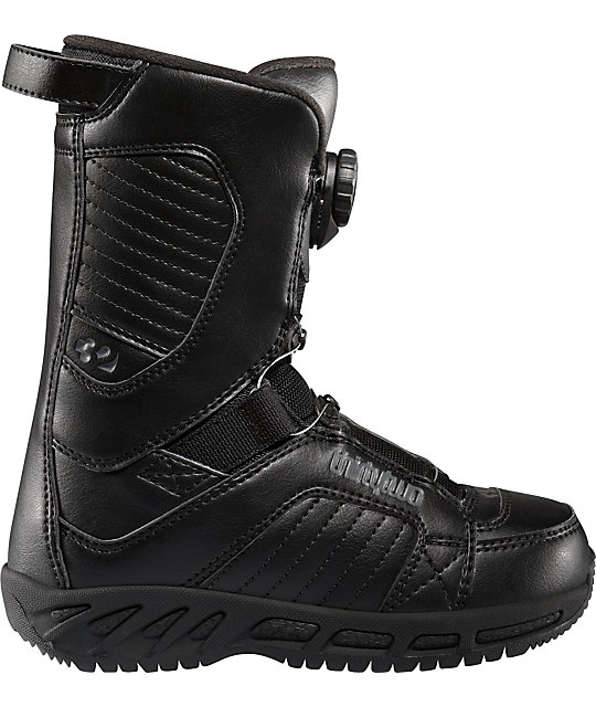 Thirtytwo BOA Black Kids Snowboard Boots