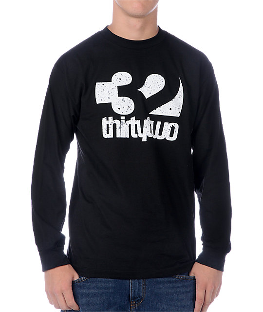 Thirtytwo Combo Fill Black Long Sleeve
