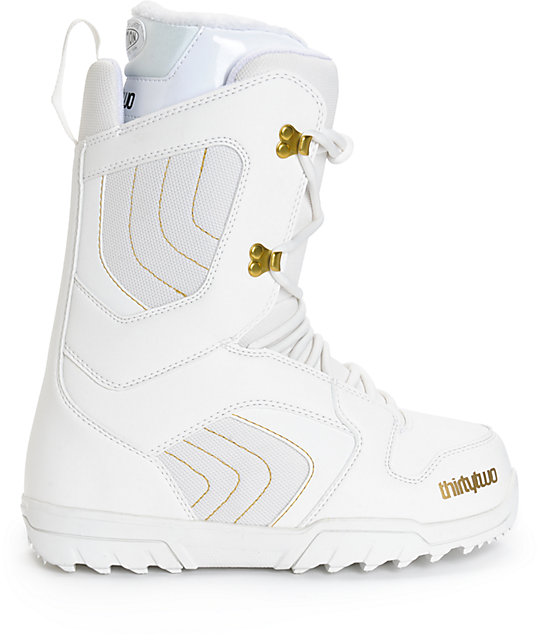 Thirtytwo Exit Womens White Snowboard Boots