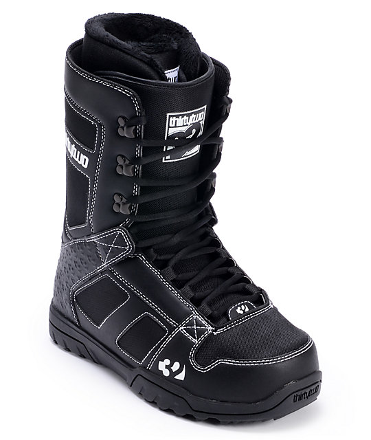 Thirtytwo Exus Black Mens Snowboard Boots