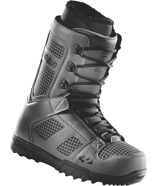 Thirtytwo Exus Grey Mens Snowboard Boots