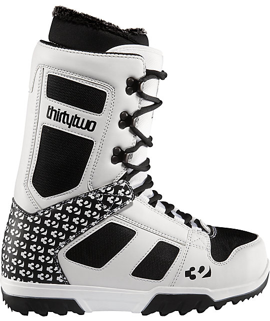 Thirtytwo Exus White Mens Snowboard Boots