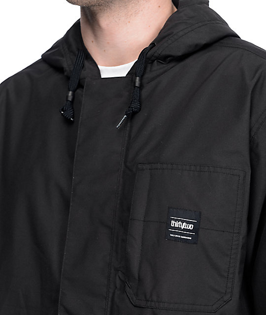 Thirtytwo Kaldwell 10K Black Snowboard Jacket