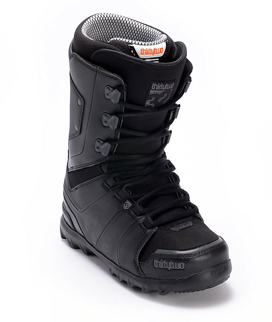 Thirtytwo Lashed Black Mens Snowboard Boots