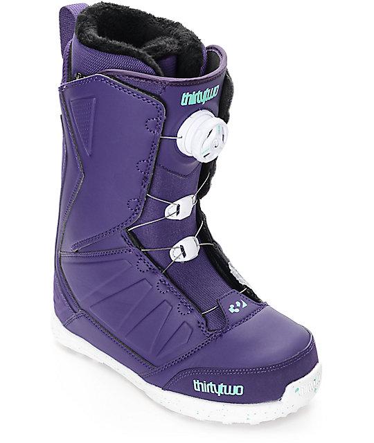 Thirtytwo Lashed Boa Purple Womens Snowboard Boots  07b270e34916