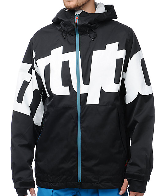 Thirtytwo Lowdown 2 Black 10K Snowboard Jacket