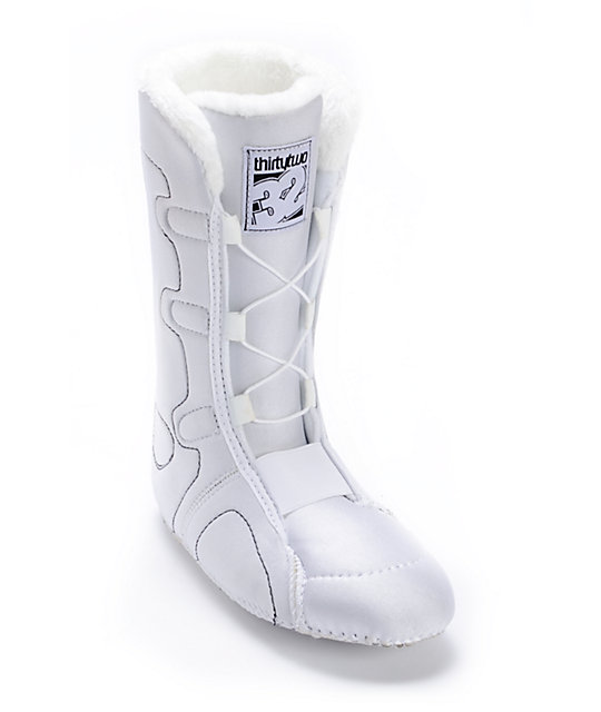 Thirtytwo STW BOA White Womens Snowboard Boots