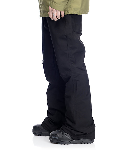 Thirtytwo Wooderson Skinny Black Snowboard Pants