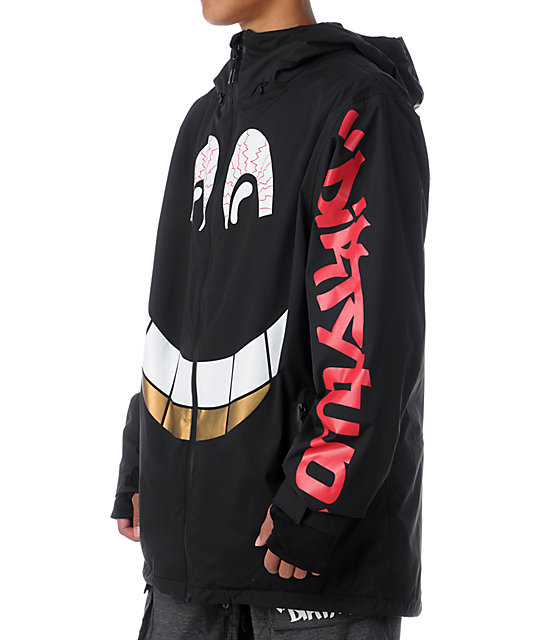 Thirtytwo x DGK Shiloh 2 10K Black Snowboard Jacket
