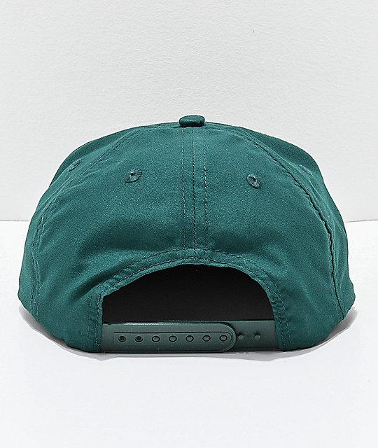 d86a2c61164 ... Thrasher Davis Forest Green Snapback Hat