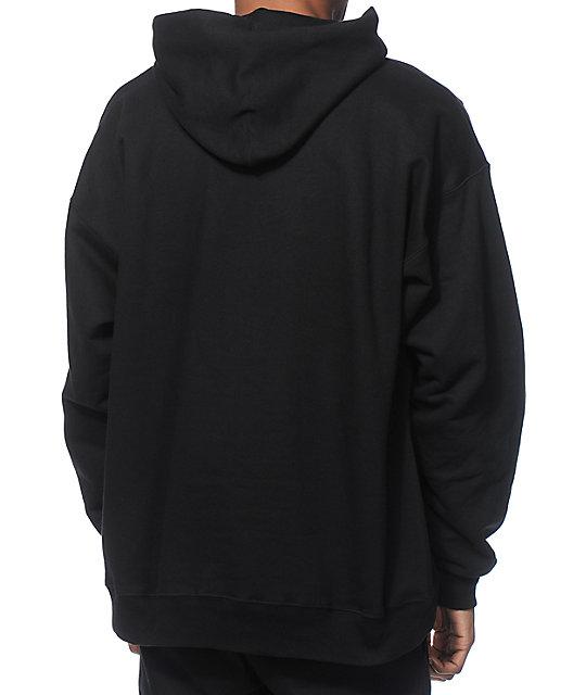 95a259c57ef5 Thrasher Flame Logo Black Hoodie
