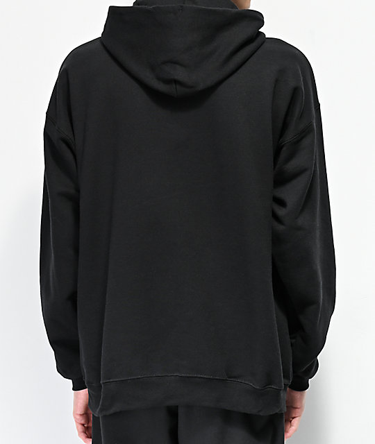 Thrasher Intro Burner Black Hoodie