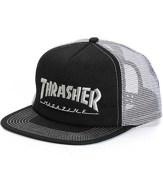 Thrasher Logo Trucker Hat  a4a58a4a858