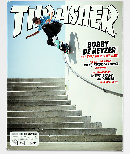 dc5371b8072 Thrasher Magazine December 2017