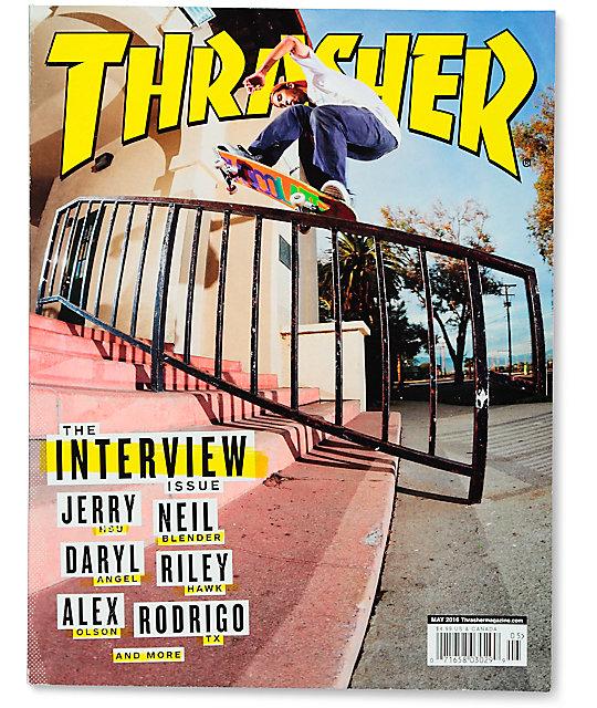 Thrasher Magazine May 2016 Issue  a827d3cbbf7f