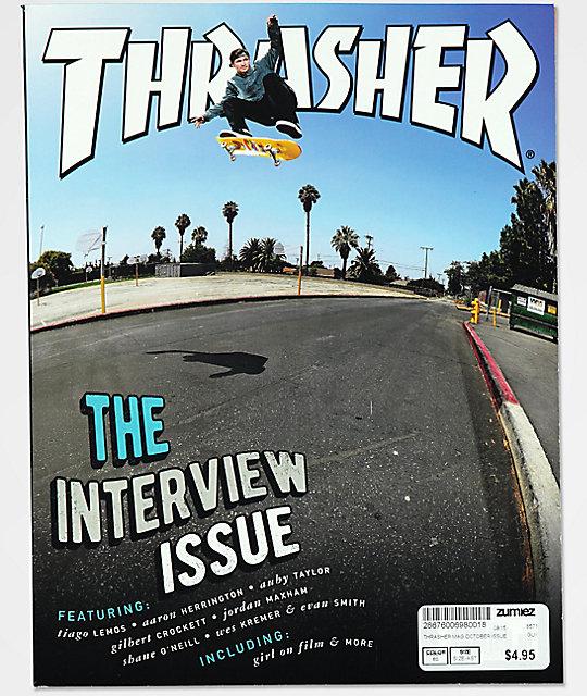 Thrasher Magazine October 2017  34380ae35aa8
