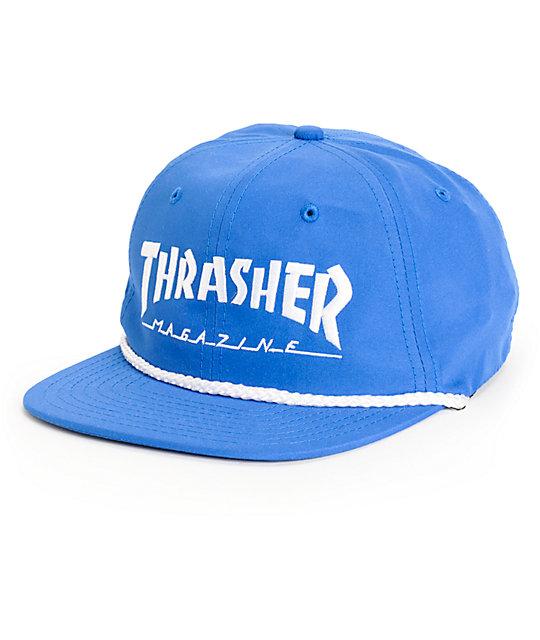 Thrasher Rope Snapback Hat  686ee5d8448