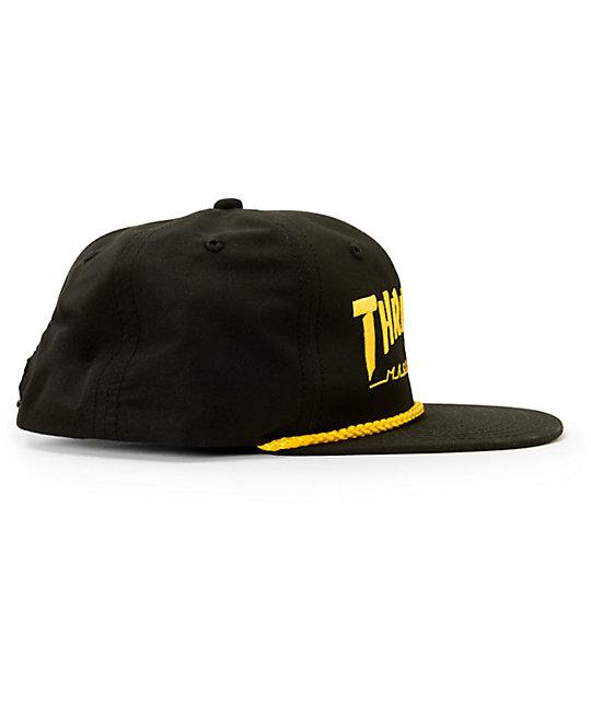 ... Thrasher Rope Snapback Hat dd9a64ce76db