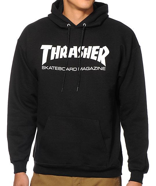 9344161be2ad Thrasher Skate Mag Black Hoodie