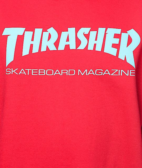 60cf73218873 ... Thrasher Skate Mag Radical Red Pullover Hoodie