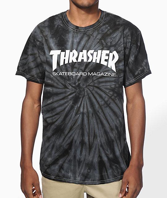 Thrasher Skate Mag Spider Dye T Shirt