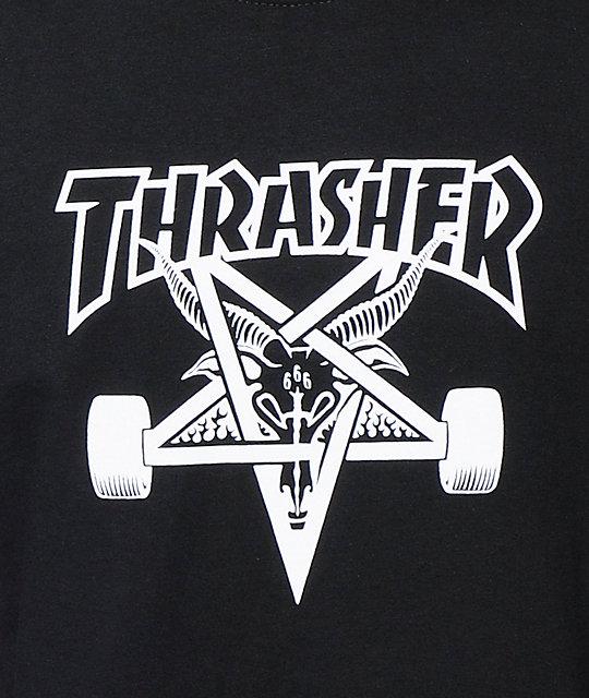 e36c6468098c ... Thrasher Skategoat Black T-Shirt
