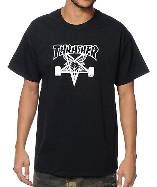 bfd8102778b4 Thrasher Skategoat Black T-Shirt | Zumiez.ca