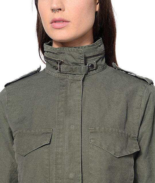 5d5c79fc99 ... Thread   Supply Kallie Olive Military Jacket ...