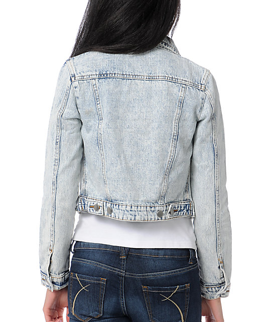 Thread and Supply Acid Wash Vintage Jean Jacket