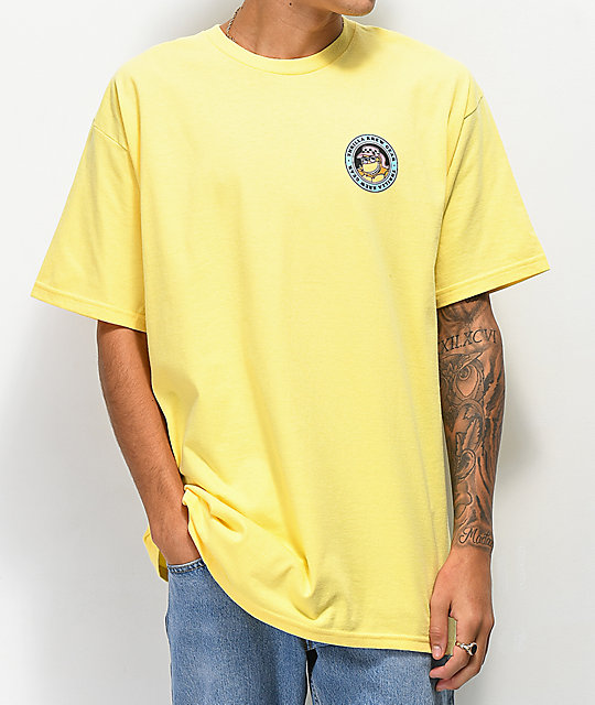 Thrilla Krew Microbus Yellow T-Shirt
