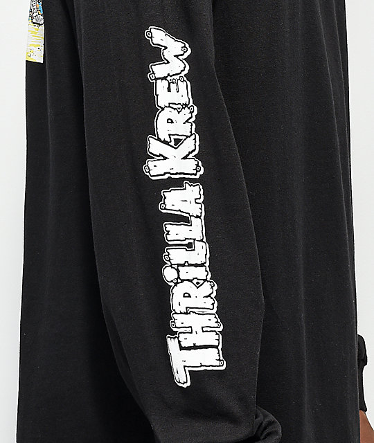 Thrilla Krew Nightrider Black Long Sleeve T-Shirt