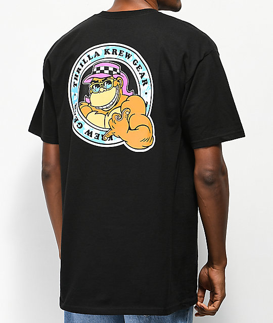 Thrilla Krew Shaka Black T-Shirt