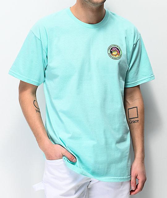 Thrilla Krew Surf Fade Teal T Shirt Zumiez