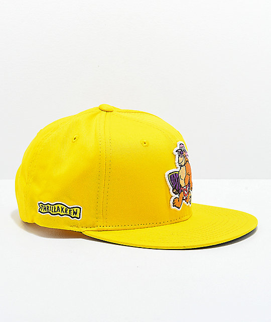 Thrilla Krew Walking Thrilla Yellow Snapback Hat