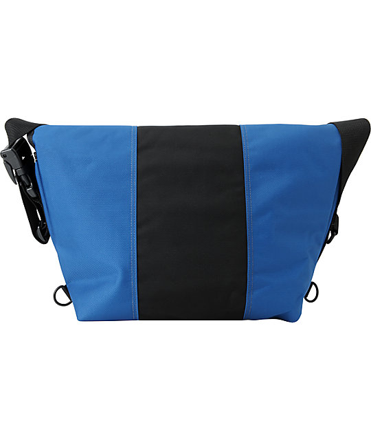 Timbuk2 Classic Blue & Black Medium Messenger Bag