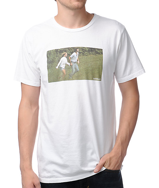 Toddland Frolicking White T-Shirt
