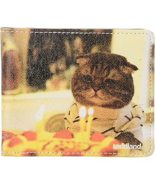 Toddland Kitty B-Day Bifold Wallet