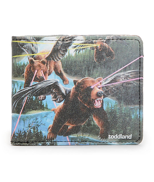 Toddland Lazerbears Bifold Wallet