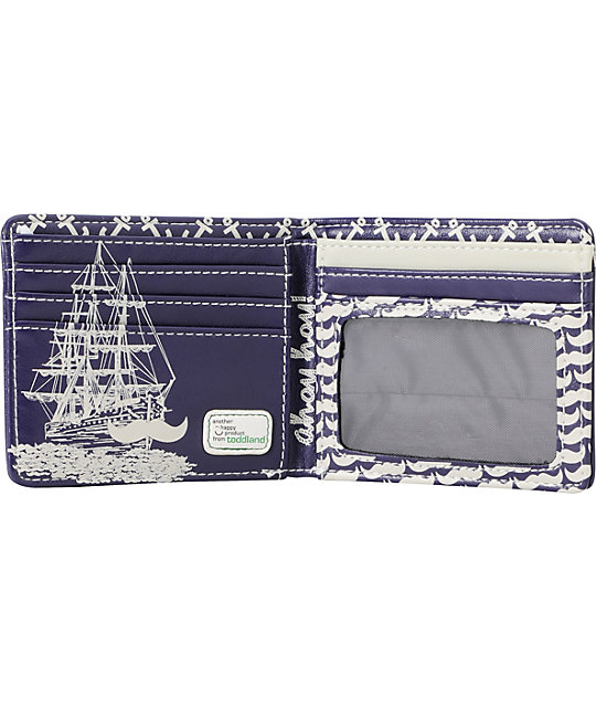 Toddland Sea Of Staches Bifold Wallet