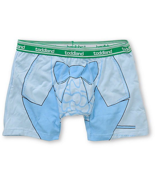 Toddland Stupidererer Light Blue Boxer Briefs
