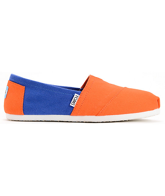 Toms Campus Classics Florida Womens Slip On Shoes