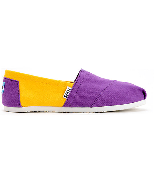 b612a2a0ab7 ... Toms Campus Classics LSU Womens Slip On Shoes