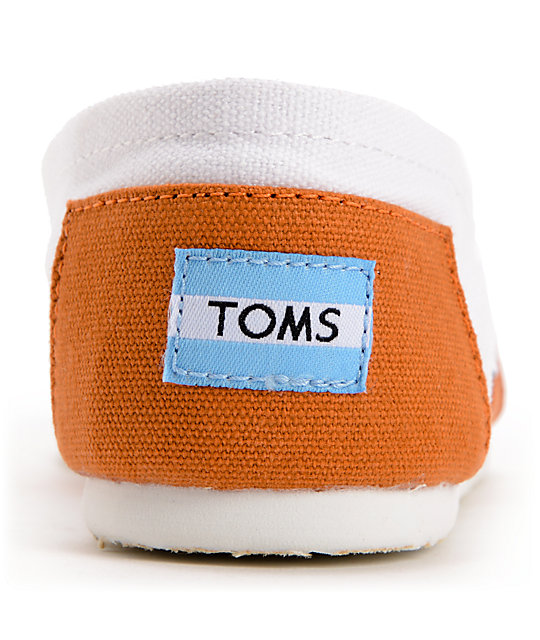 Toms Campus Classics Texas Slip On Shoes