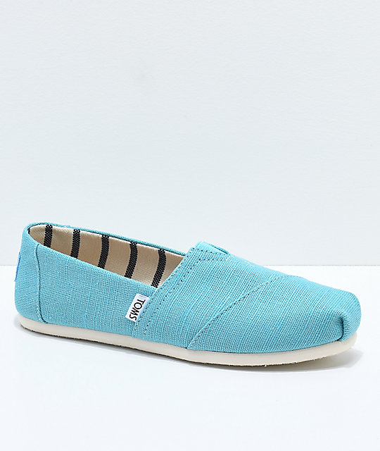 Toms Classic Venice Marine Blue Shoes