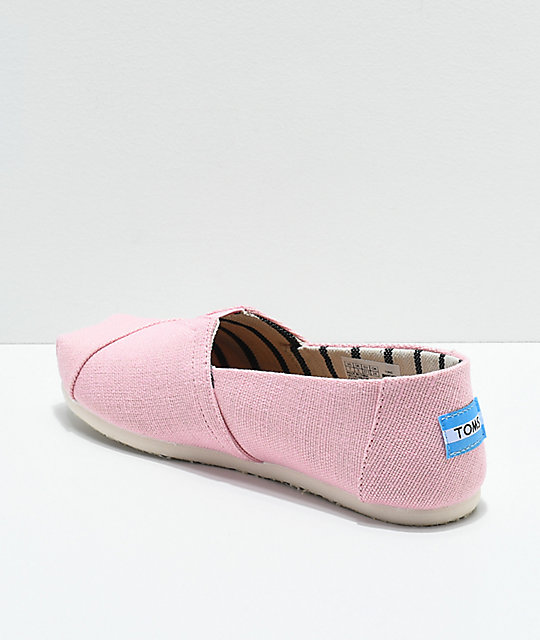 Toms Classic Venice Powder Pink Shoes