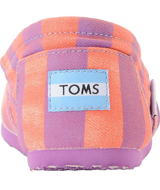 Toms Classics Coral Beckett Vegan Canvas Womens Shoes