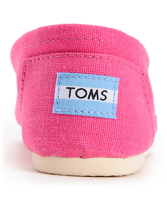 Toms Classics Earthwise Pink Vegan Womens Shoes
